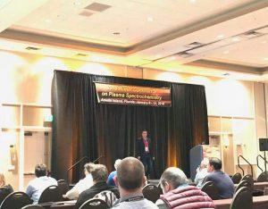 Laboratorio Análisis Químico Aplicado participa en el congreso Winter Conference on Plasma Spectrochemistry